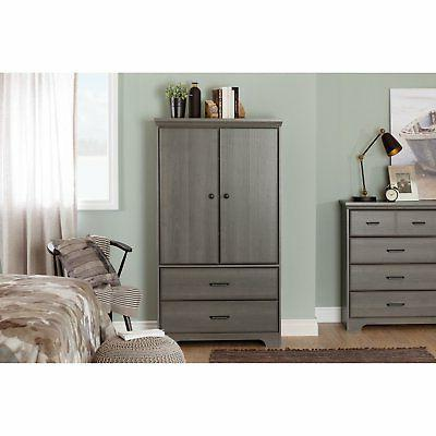 South Door Drawer Armoire