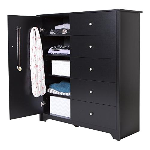 South Shore Vito Chest w/5 Black