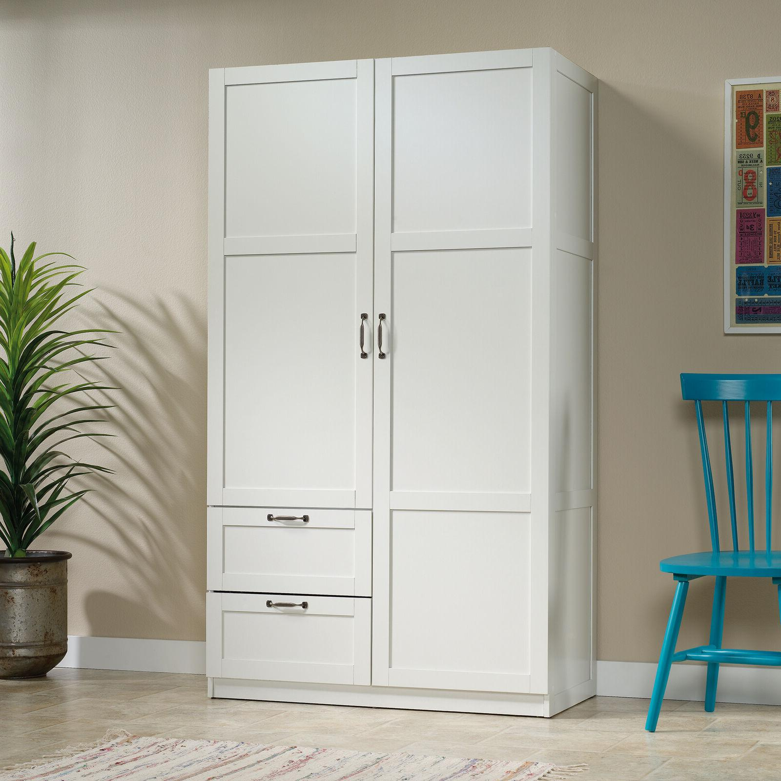 wardrobe armoire closet tall cabinet bedroom clothes