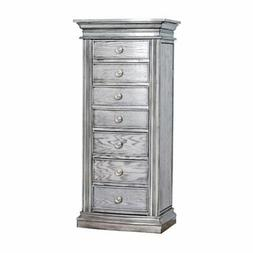 Hives and Honey Landry Jewelry Armoire - Smoke Gray