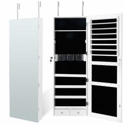 Large Storage Jewelry Cabinet Armoire Organizer Wall/Door Mo