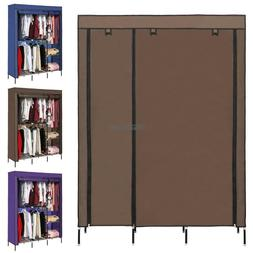 Large Wardrobe Armoire Closet Fabric Storage Clothes Room Or