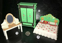 M~9476~CHOOSE 1 PLAYMOBIL Dollhouse Furniture Mini: BED~ARMO