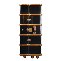 Authentic Models MF077B Stateroom Armoire, Black