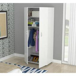 modern 2 door adjustable shelves wood mobile