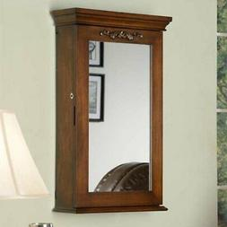 Morris Locking Wall Armoire - 19.5W x 32H in.