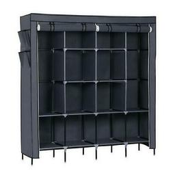 New Clothes Rack Organizer Closet Armoire Wardrobe Garment L