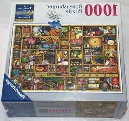 New Ravensburger Kitchen Cupboard 1000 Piece Jigsaw Puzzle A
