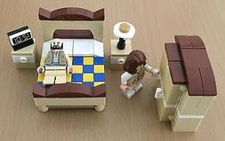 NEW LEGO Master Bedroom Furniture MB1 - Bed Armoire Nightsta