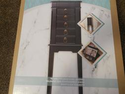 NIB Jewelry Armoire Hives & Honey Kate Wooden Jewelry Box Bl