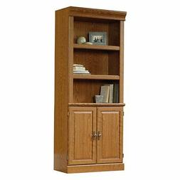 Sauder 402173 Orchard Hills Library With Doors, Carolina Oak