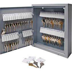 S.P. Richards Company Secure Key Cabinet, 10 x 3 x 12 Inches