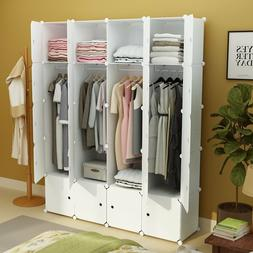 MAGINELS Portable Clothes Closet Wardrobe Armoire Dresser St
