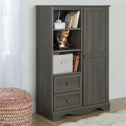 South Shore Furniture Savannah Armoire - Gray Maple
