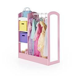 Guidecraft See and Store Dress-up Center – Pastel: Toddler