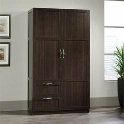 select wardrobe armoire in cinnamon cherry