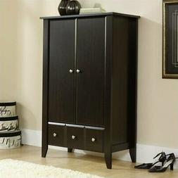 Sauder Shoal Creek Armoire in Jamocha Wood