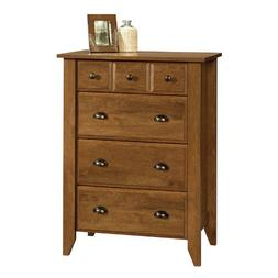 Shoal Creek Four Drawer Chest - Finish: Oiled Oak