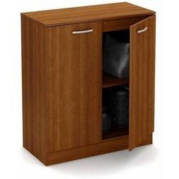 South Shore Smart Basics 2-Door Storage Cabinet, Morgan Cher
