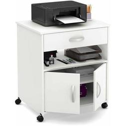 South Shore Smart Basics Printer Cart on Wheels, Multiple Fi