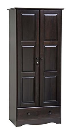100% Solid Wood Flexible Wardrobe/Armoire/Closet by Palace I