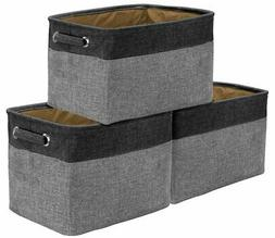 Sorbus Storage Large Basket Set  - 15 L x 10 W x 9 H - Big R