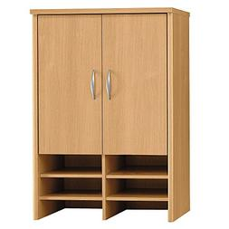 30 in. Storage Hutch in Light Oak - Series C