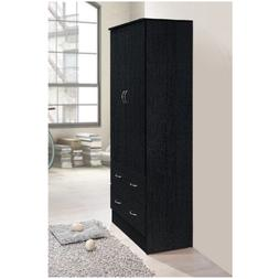 Tall Armoire Wardrobe Closet Cabinet Bedroom Furniture Cloth