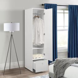 Kings Brand Furniture - Corry Wardrobe Armoire Storage Close