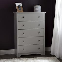 South Shore Vito 5-Drawer Chest, Multiple Finishes