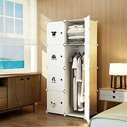 MAGINELS Wardrobe Clothes Closet Bedroom Armoire Dresser Cub