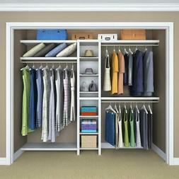 Wardrobe Closet Clothes Organizer Armoire Cabinet Rack Bedro