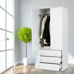 Bedroom Armoire Wardrobe Closet Black | Armoireguide