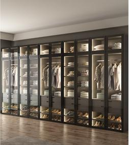 Wordable with LED Lighting / Dress Closet <font><b>Armoire</